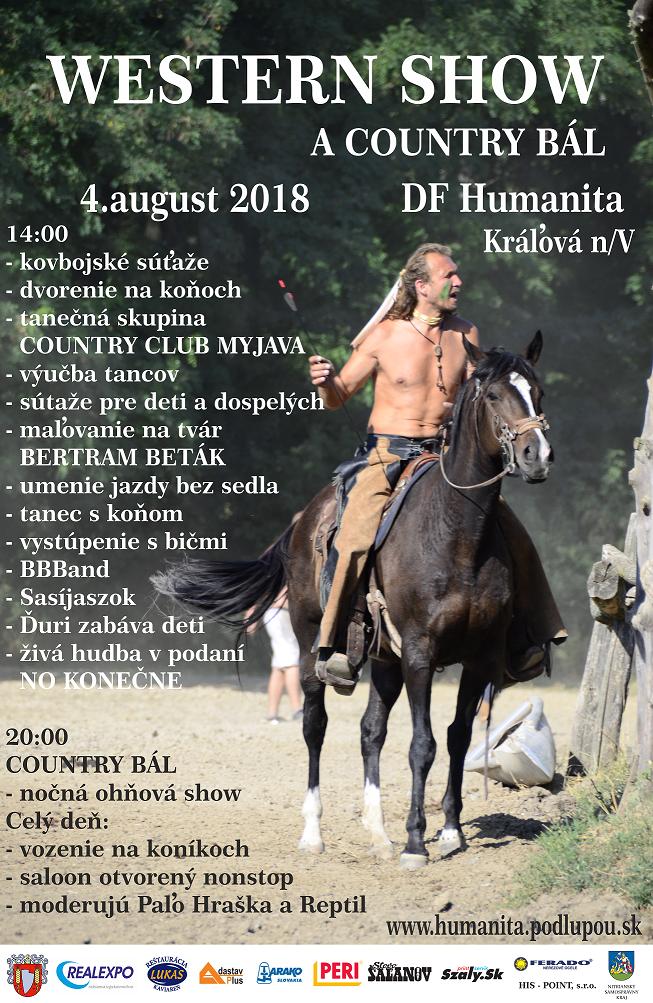 Western show a county bál 2018